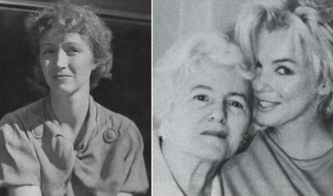 Мать Мэрилин Монро пережила дочь и умерла в глубокой старости