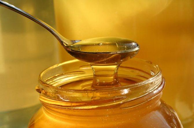 Мед для маски для волос