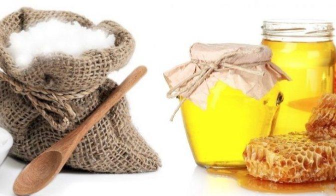 Мед и сода для волос