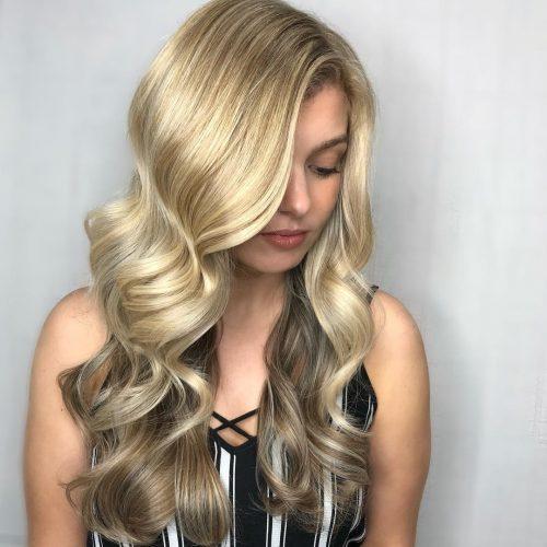 медовые цвета красок для волос