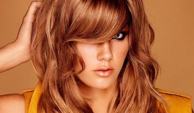 медовый оттенок волос красивый
