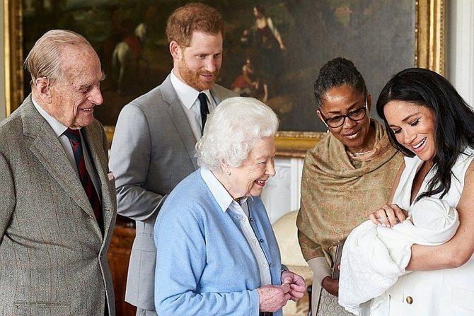 Меган Маркл родила в начале мая Фото: REUTERS