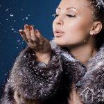 Мех хорошо сохраняет тепло и надежно защищает от зимней непогоды