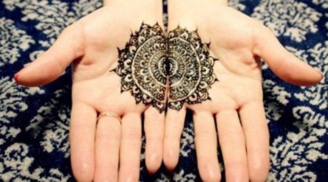Мехенди на руках: значение