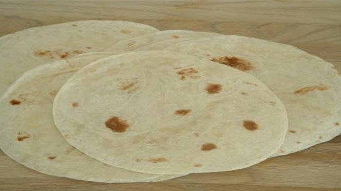 мексиканская лепешка из кукурузной муки