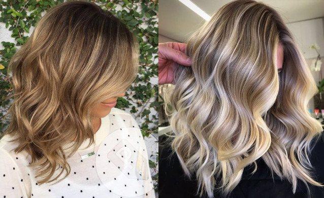 Мелирование на русых и светлых волосах