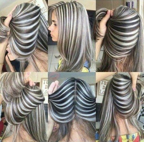 Мелирование на темно-русые волосы. Фото, инструкция окрашивания, кому идёт