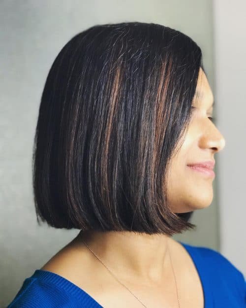 мелирование волос на черный цвет волос