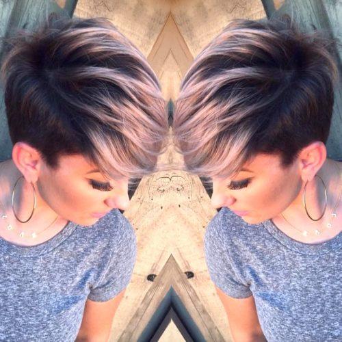 Мелирование вьющихся волос коротких стрижек Виды мелирования