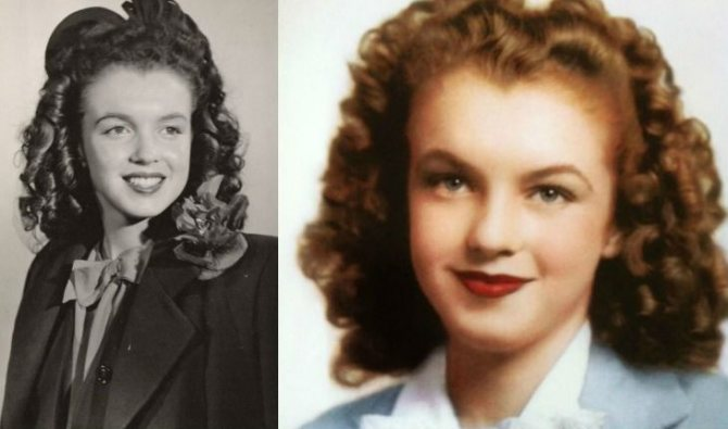 Мэрилин Монро в подростковом возрасте (примерно 1940 год)