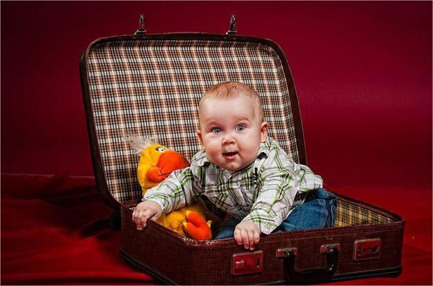 Младенец в чемодане - чек-лист что взять с собой на море