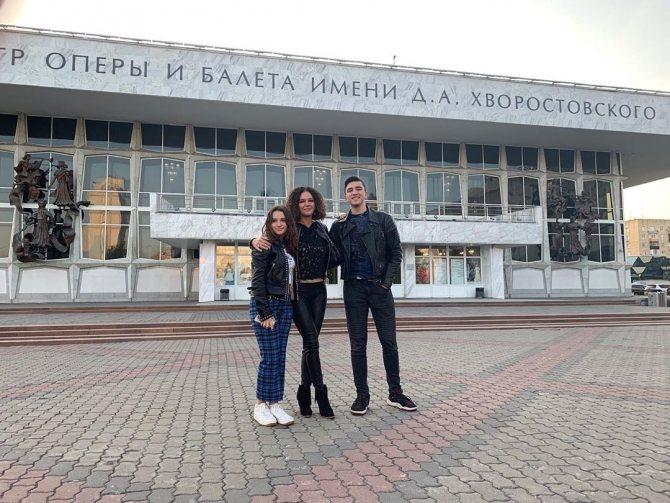 Младшие дети Хворостовского