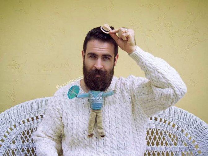 Мода на пышную бороду