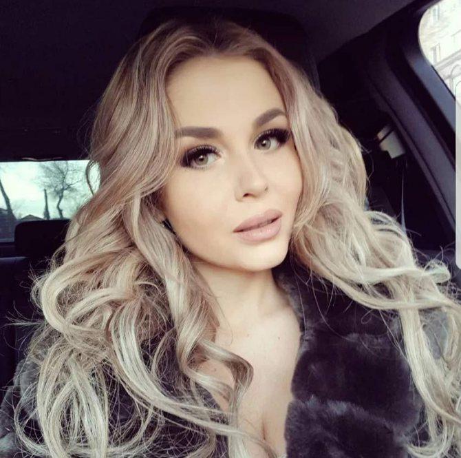 Модель Ольга Семенова