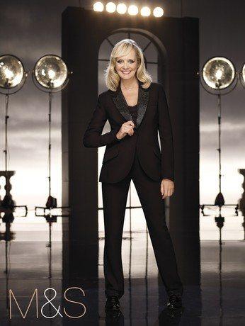 Модель выпустила новую коллекцию женской одежды для бренда Marks
