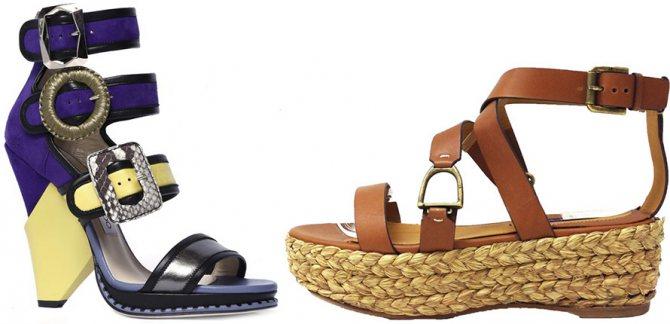 Модная обувь Jimmy Choo, Ralph Lauren