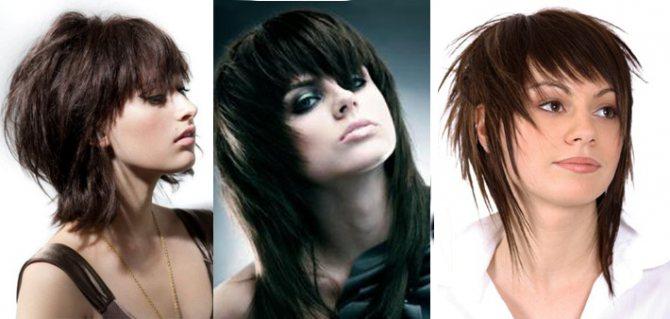 Модная стрижка 2020 каскад на средние волосы