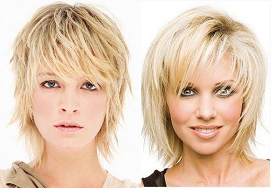 Модная стрижка каскад 2020 на средние волосы