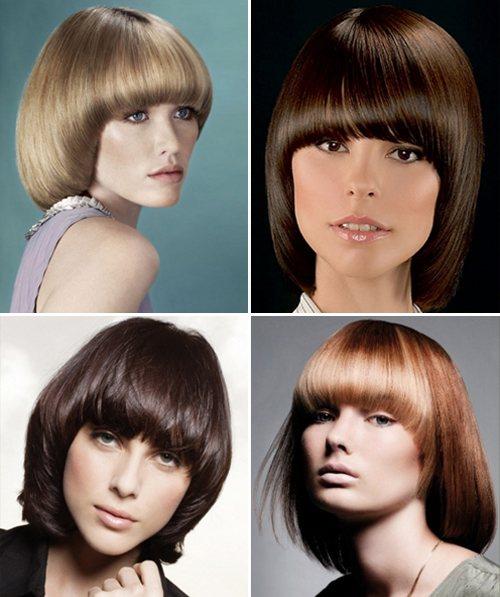 Модная стрижка сессон 2020 на средние волосы