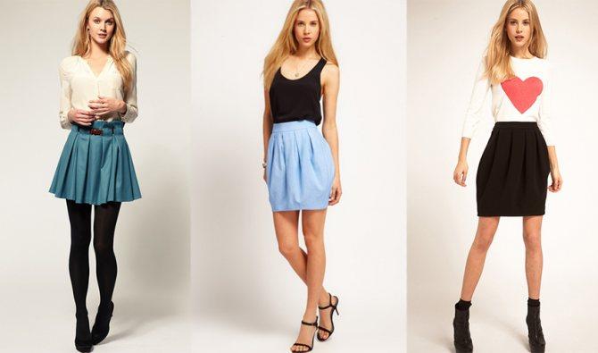 модная юбка-колокол