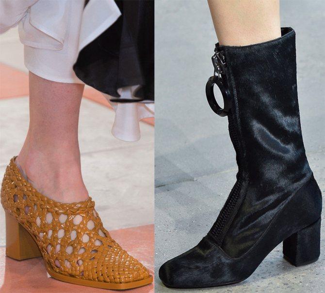 Модная женская обувь осень-зима 2015-2016