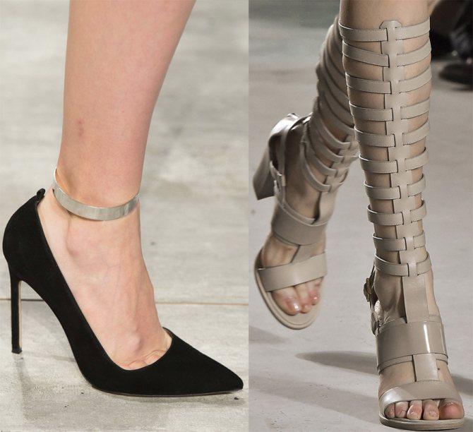 Модная женская обувь весна–лето 2015