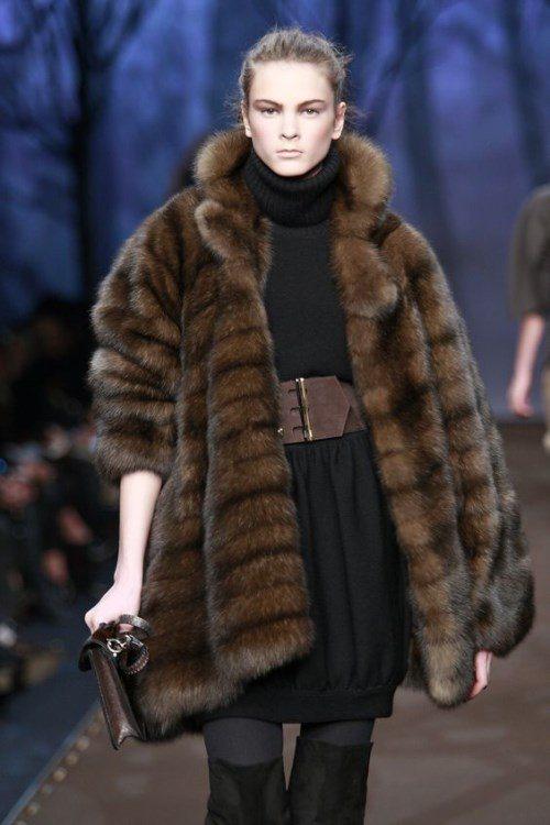 модная зимняя верхняя одежда