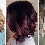 Модное окрашивание 2019 на средние волосы – обзор актуальных техник и образов
