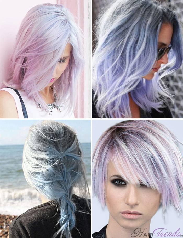 Модное окрашивание светлых волос, Серенити