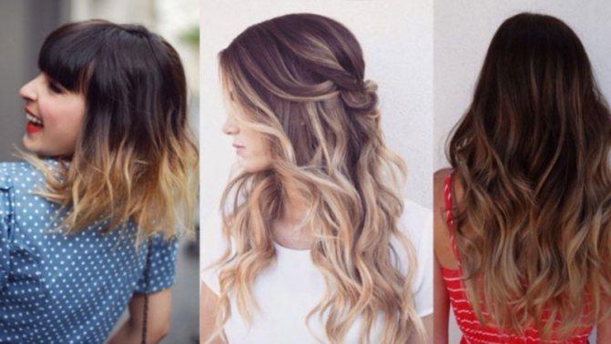 Модное окрашивание волос 2019 - модные тенденции в окрашивании