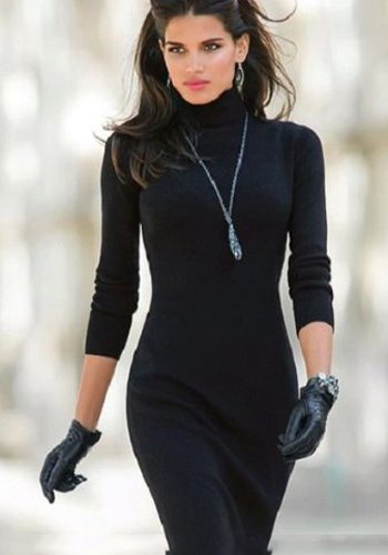 Модное платье-лапша фото
