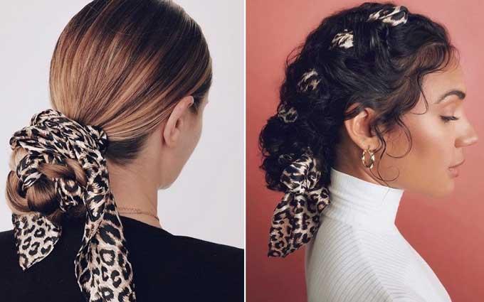 Модные аксессуары для волос и фото как их носить