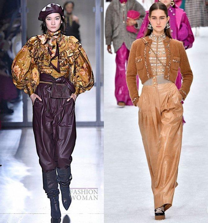 Модные брюки осень-зима 2019-2020 фото №11