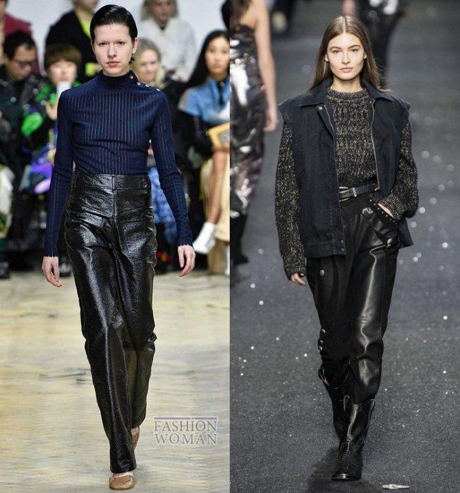Модные брюки осень-зима 2019-2020 фото №13