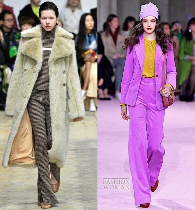Модные брюки осень-зима 2019-2020 фото №20