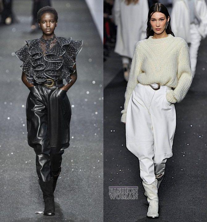Модные брюки осень-зима 2019-2020 фото №22