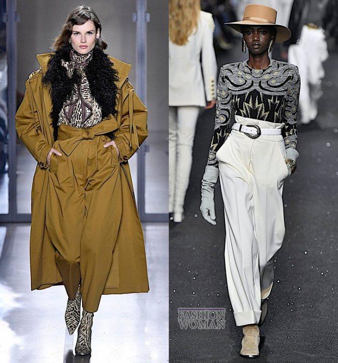Модные брюки осень-зима 2019-2020 фото №25