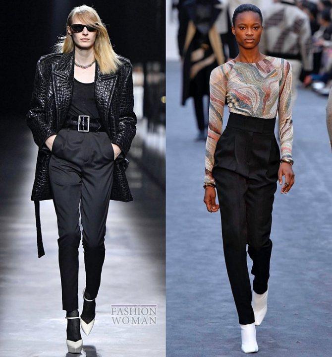 Модные брюки осень-зима 2019-2020 фото №26