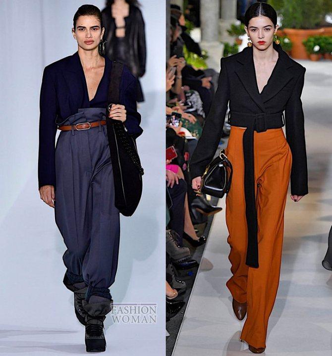 Модные брюки осень-зима 2019-2020 фото №28