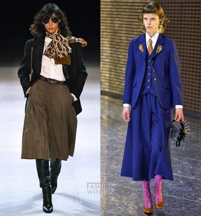 Модные брюки осень-зима 2019-2020 фото №31