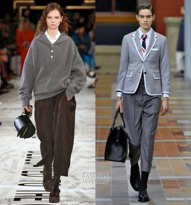 Модные брюки осень-зима 2019-2020 фото №32