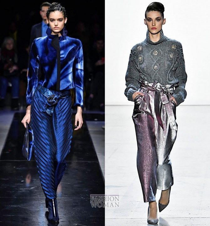 Модные брюки осень-зима 2019-2020 фото №35