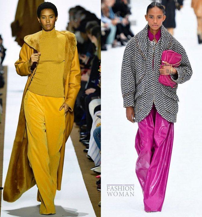 Модные брюки осень-зима 2019-2020 фото №37