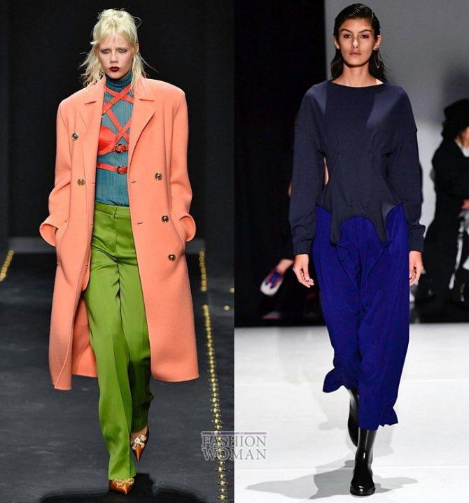 Модные брюки осень-зима 2019-2020 фото №40