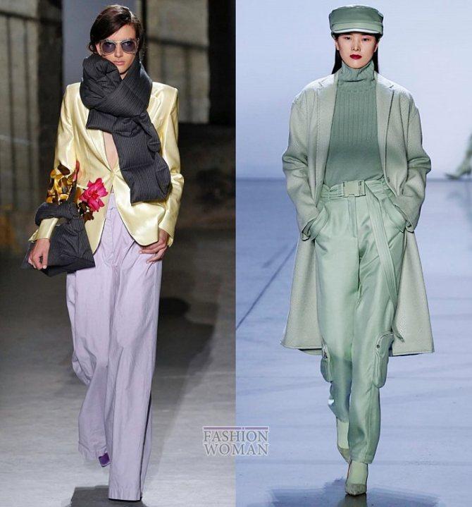 Модные брюки осень-зима 2019-2020 фото №41
