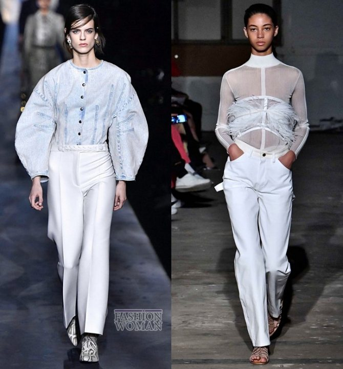 Модные брюки осень-зима 2019-2020 фото №43