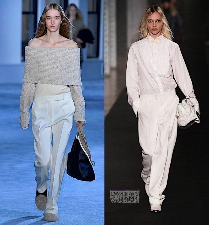 Модные брюки осень-зима 2019-2020 фото №44