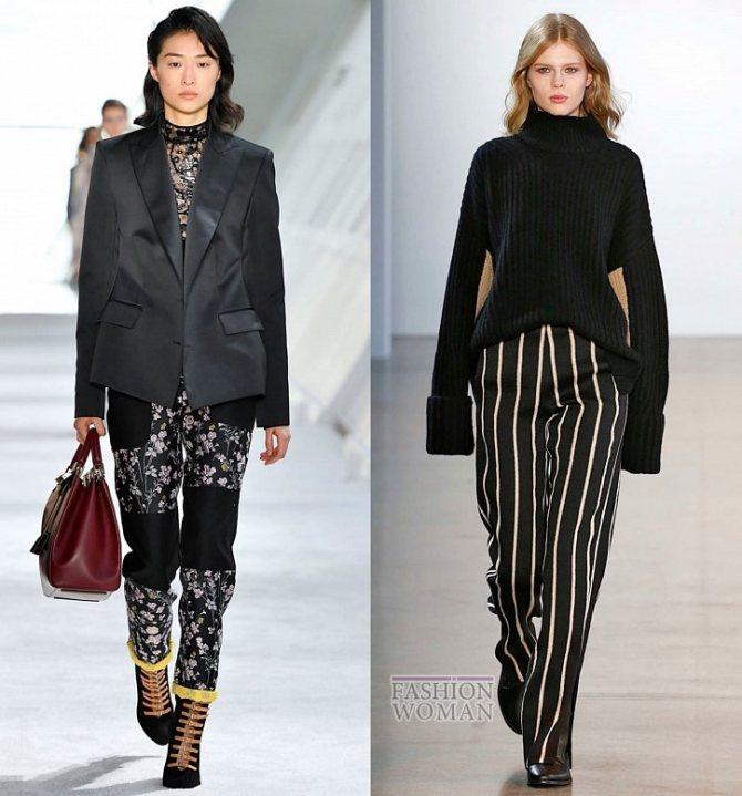 Модные брюки осень-зима 2019-2020 фото №46