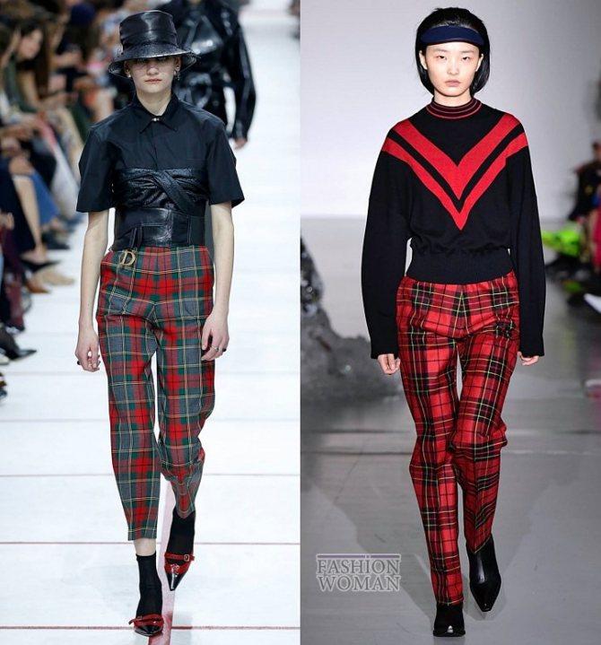 Модные брюки осень-зима 2019-2020 фото №5