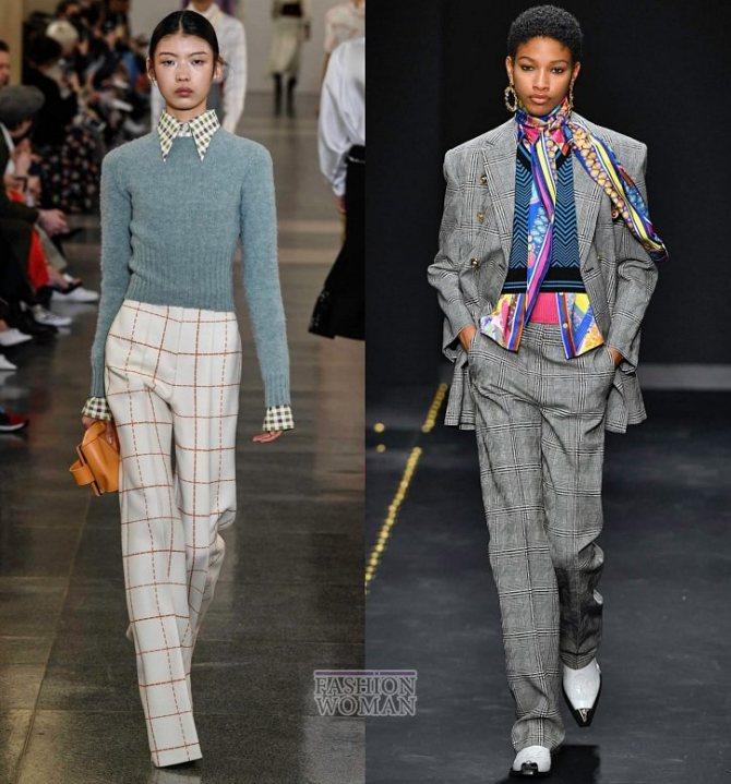Модные брюки осень-зима 2019-2020 фото №7